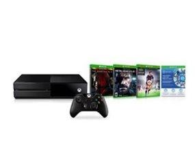 Console Xbox One 500GB Preto Microsoft 1 Controle sem fio + 1 jogo via Download + 2 Jogos para Xbox One por R$ 1095