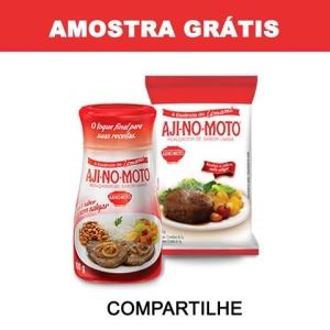 GANHE UMA AMOSTRA DE AJINOMOTO