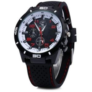 Relógio militar esportivo de quartzo para homens por R$11