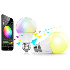Lâmpada c/ LED colorido por R$31