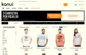 Promoção Na Kanui 5 Camisetas Apenas R$109,90