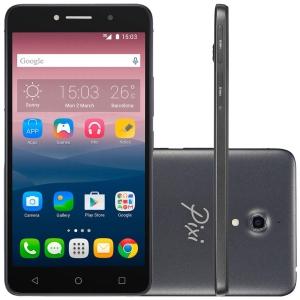 Smartphone Alcatel PIXI4 6 Preto OT8050 - Dual Chip, 3G, POR R$ 322