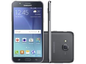 "Galaxy J7 Duos 16GB Preto - Dual Chip 4G Câm 13MP + Selfie 5MP Flash Tela 5.5"" R$890.91"