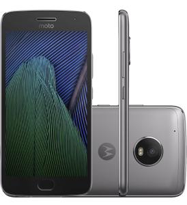 "Moto G 5 Plus, Android 7.0 Tela 5.2"" 32GB Câmera 12MP  R$1.349.10"