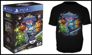 Super Dungeons Bros + Camiseta - PS4