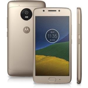 Smartphone Moto G5 XT1672 Ouro, 4G/32GB,  por R$ 899