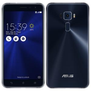 """ASUS Zenfone 3 5,5"""" 4GB/64GB Preto Safira por R$ 1614"""