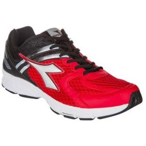 Tênis Masculino Diadora Inspire – Preto/Vermelho por R$ 80