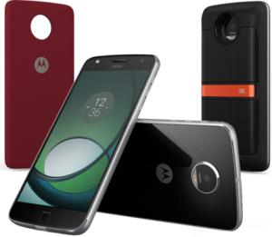 "Smartphone Motorola Moto Z Play Sound Ed Preto Tela 5.5"" Android™6.0.1 Marshmallow Câm 16Mp 32Gb"