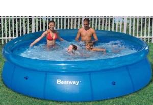 Piscina Bestway Fast Set 5.377L - Azul (Cód. Item 360430)