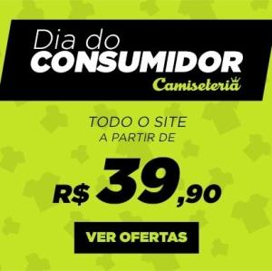 Semana do Consumidor na Camiseteria