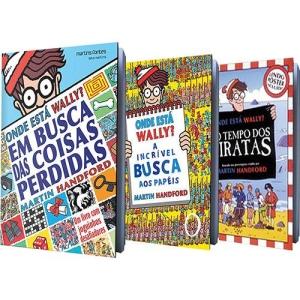 Kit Livros - Onde Está Wally? - 3 Volumes por R$ 40
