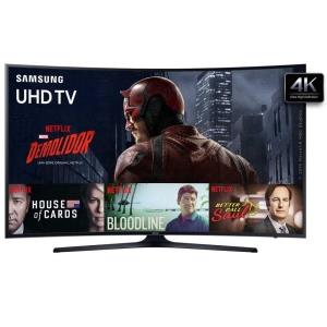 "Smart TV LED Tela Curva 49"" Samsung 49KU6300 Ultra HD 4K - 2.660,00"