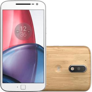 """[Cartão Americanas] Smartphone Moto G 4 Plus Dual Chip Android 6.0 Tela 5,5"""" 32GB 4G Câmera 16MP - Bambu por R$ 979"""