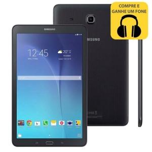 """Tablet Samsung Galaxy Tab E 9.6 Wi-Fi SM-T560 com Tela 9.6"""", 8GB por R$ 565"""