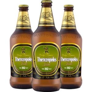 Kit com 3 Cervejas Puro Malte Therezópolis Jade/ IPA 600ml por R$ 24