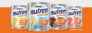Amostra grátis Nestlé Nutren Active