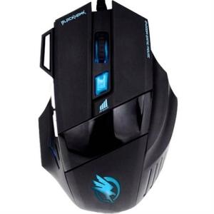 Mouse Gamer Black Hawk Optico Usb 2400 Dpi Om703 Fortrek - R$29,00