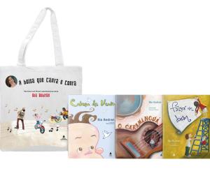 Livro - Kit Bolsa de Leitura: A Bolsa Que Canta E Conta!  R$ 16.90