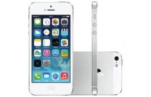 iPhone 5S 16GB Dourado, Prata, Cinza Espacial Desbloqueado Wi-Fi Câmera 8MP - Apple. Grátis Película! Produto Vitrine. Em até 12x