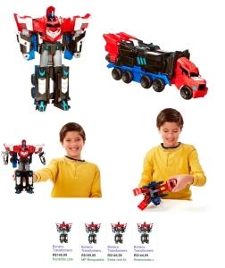 Boneco Transformers Hasbro Robots In Disguise Mega Optimus Prime por R$ 66