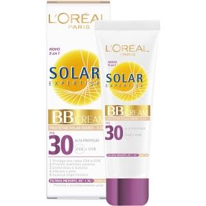 BB Cream L'Oréal Paris Solar Expertise Protetor Solar Diário FPS 30 50g por R$13