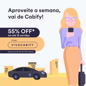 Cabify 55% Off