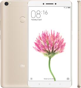 R$ 762 Xiaomi Mi Max Tela de 6.44  4GB RAM 128GB ROM Snapdragon 652 Dourado