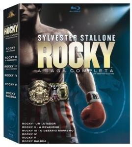 Blu-Ray Coleção Rocky - A Saga Completa - 6 Discos por R$ 99