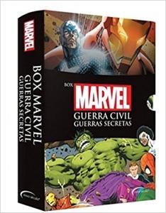 Box Marvel Guerra Civil: Guerras Secretas R$ 19,90