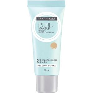 Base Líquida Maybelline Pure Make Up - Natural por R$17