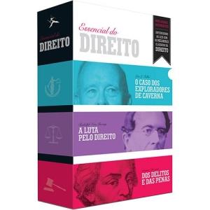 Box de Livros - O Essencial do Direito (3 Volumes) - R$17,25