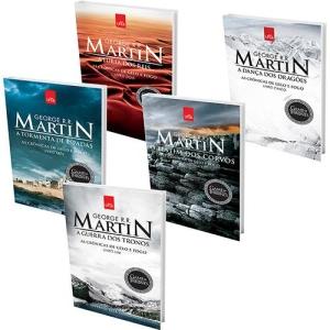 [Submarino]-Kit Livros - Especial Game of Thrones - Capa Exclusiva-R$49,00