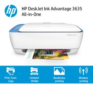 Impressora HP Deskjet 3635 Wi-Fi por R$ 309,00