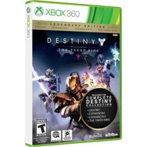 Destiny The Taken King - Edição Lendária Xbox 360 - R$  69,95