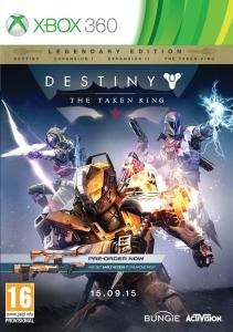 Destiny The Taken King - Edição Lendária - Xbox 360 - R$ 59,90