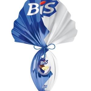 Ovo de Páscoa - Bis - Lacta - 530g - Meio Ao Leite e Meio Branco R$40