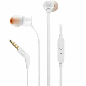 Fone de Ouvido Intra Auricular JBL T110 Branco - JBLT110WHT