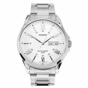 Relógio Analógico com pulseira de aço Casio, resistente a água 100 m - Saindo por R$ 159,90