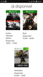 Vários jogos grátis de Xbox para assinante Gold