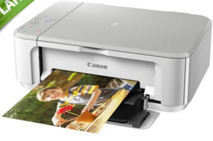 Multifuncional Canon Jato de Tinta Colorida Sem Fio Branca - MG3610 (Boleto) - R$197