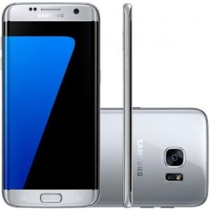 Smartphone Samsung Galaxy S7 Edge G935F 32GB 4G Desbloqueado Prata por R$ 2290