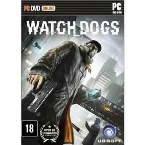 Watch Dogs PC - FRETE GRÁTIS