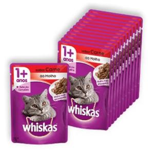 Sachê Whiskas para gatos - vários sabores  R$ 00,95
