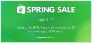 Xbox Live, de 11 a 17 de abril