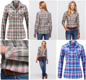 Camisa estampa xadrez por R$ 45
