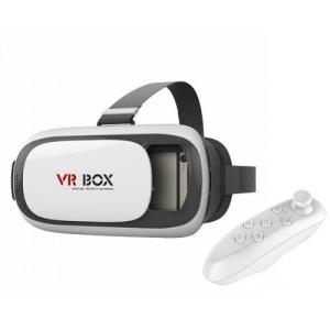 Óculos Realidade Virtual 3d Com Controle - Vr Box 2.0 por R$ 34,48