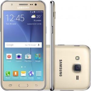 Smartphone Samsung Galaxy J5 Duos J500M Desbloqueado Dourado por R$ 640