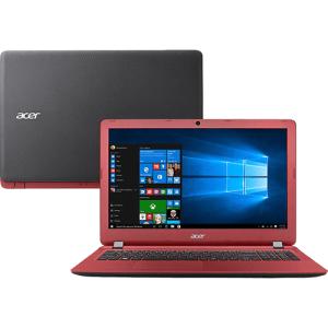 """Notebook Acer ES1-572-53GN Intel Core i5 4GB 1TB Tela 15.6""""  - Vermelho por R$ 1710"""