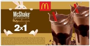 McShake Chocolate Kopenhagen Leve 2 e pague 1